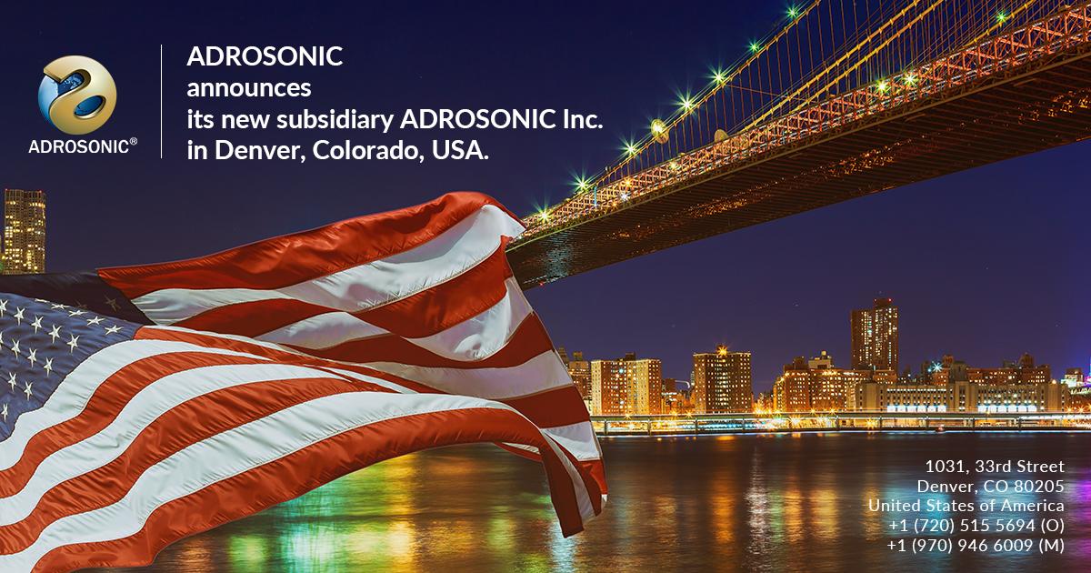ADROSONIC Inc