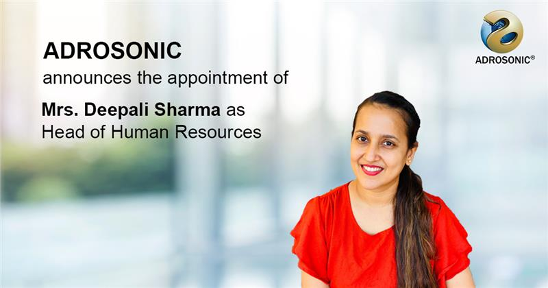 Deepali Sharma is new HR Head